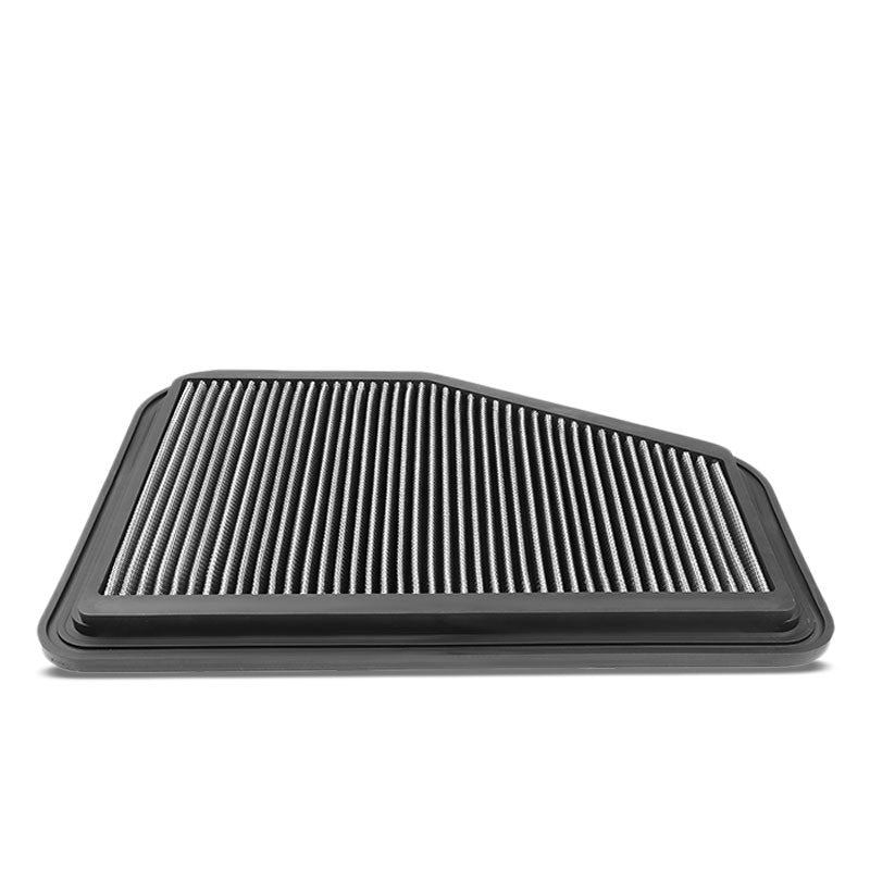 Silver High Flow Washable/Reuse Drop-In Panel Air Filter For 11-17 Chevy Caprice-Performance-BuildFastCar