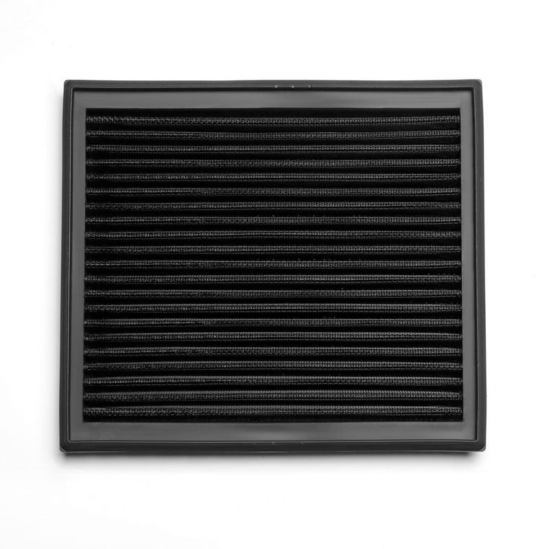 Black High Flow Washable Airbox Drop-In Panel Air Filter For 05-11 Volvo V50-Performance-BuildFastCar