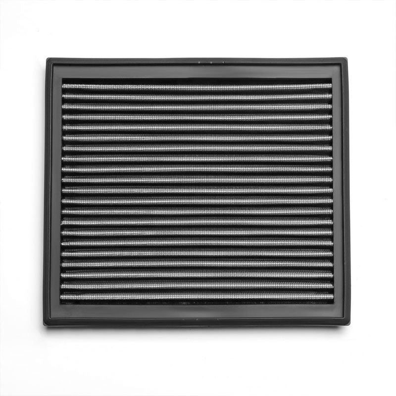 Silver High Flow Washable/Reusable Drop-In Panel Air Filter For 08-13 Volvo C30-Performance-BuildFastCar