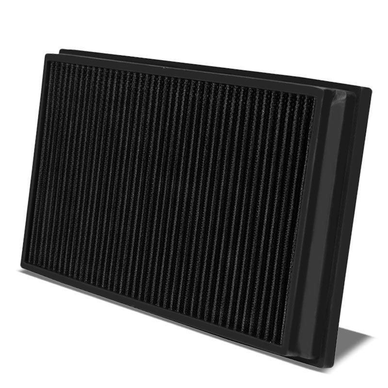 Reusable Black High Flow Drop-In Panel Air Filter For Porsche 03-17 Cayenne-Performance-BuildFastCar