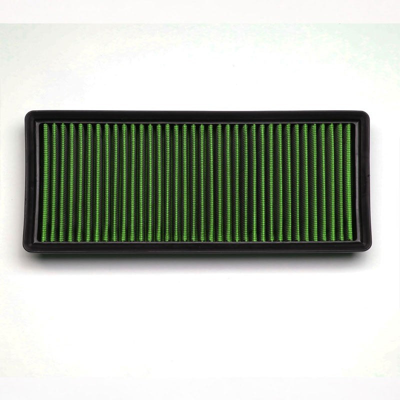 Green High Flow Washable/Reusable Drop-In Panel Air Filter For 12-16 E550 4.6L-Performance-BuildFastCar