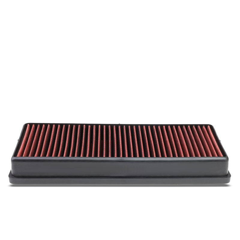 Red High Flow Washable/Reusable Drop-In Panel Air Filter For 12-14 ML550 4.6L-Performance-BuildFastCar