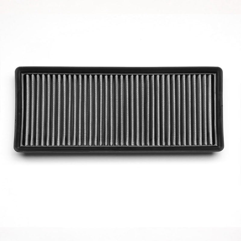 Silver High Flow Washable/Reusable Drop-In Panel Air Filter For 12-16 S550 4.6L-Performance-BuildFastCar