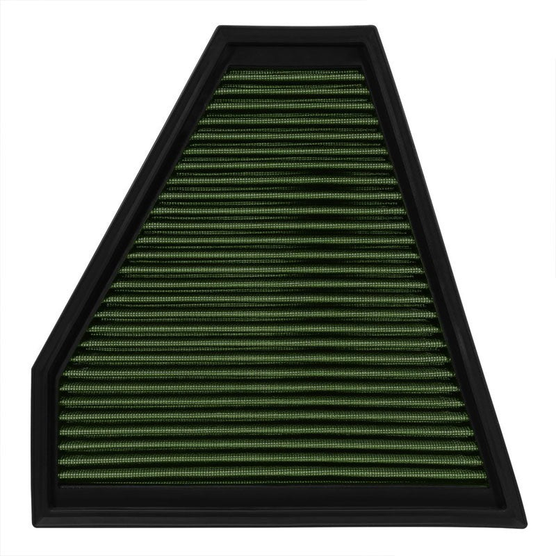 Reusable Green High Flow Drop-In Panel Air Filter For BMW 09-13 328i xDrive 3.0L-Performance-BuildFastCar