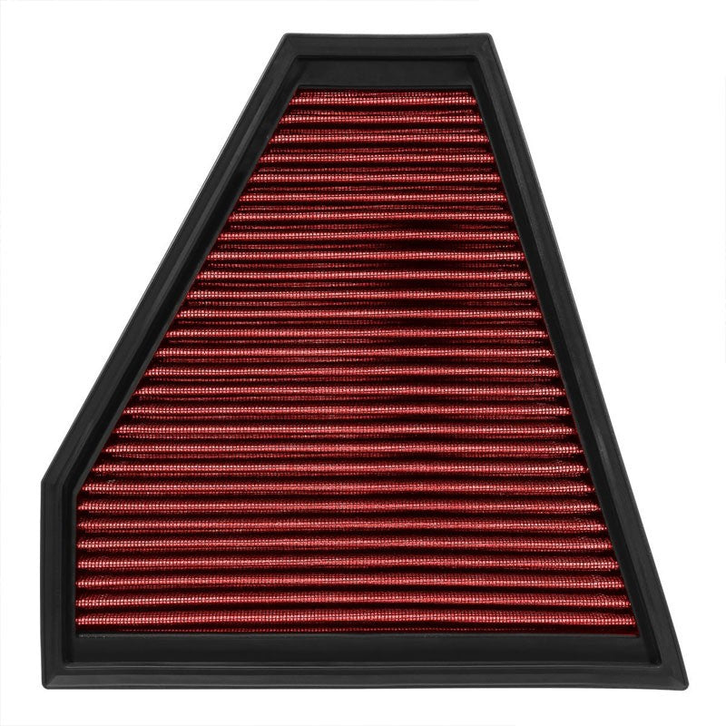 Reusable Red High Flow Drop-In Panel Air Filter For BMW 09-13 328i xDrive 3.0L-Performance-BuildFastCar