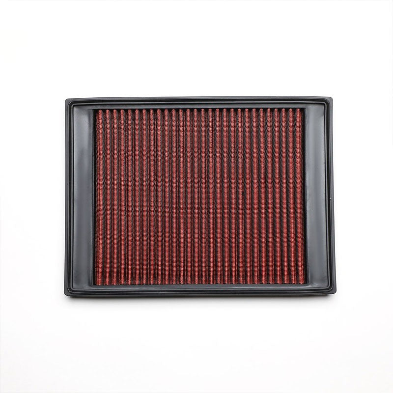 Red High Flow Washable Drop-In Panel Air Filter For 06-09 Range Rover Sport-Performance-BuildFastCar