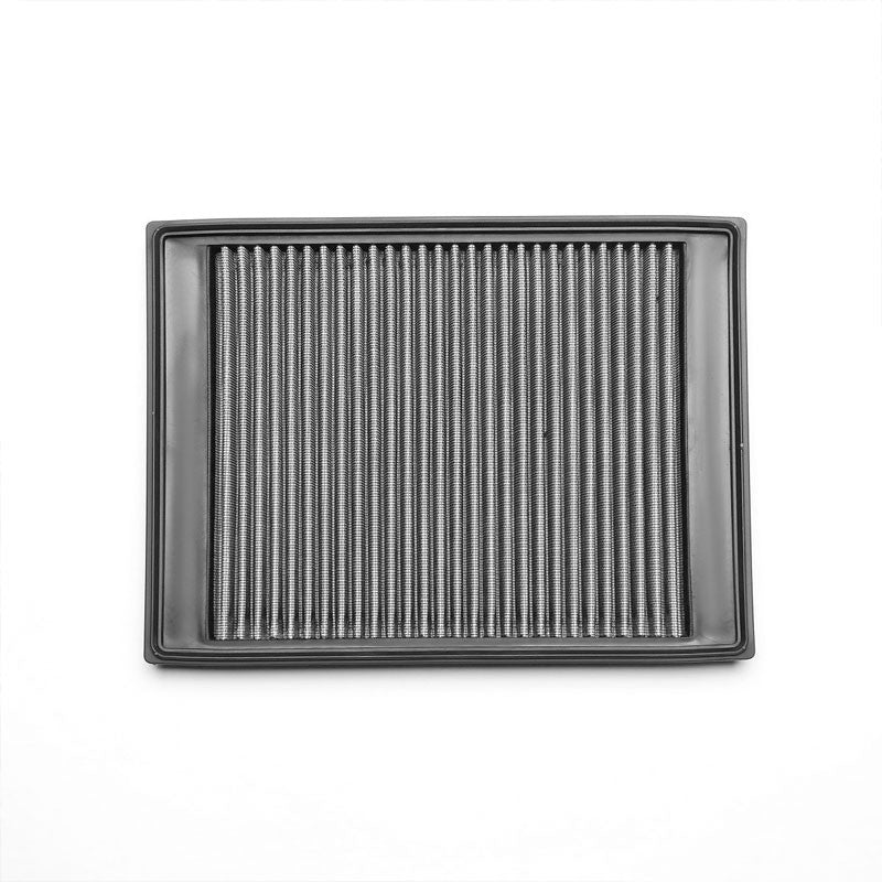 Silver High Flow Washable/Reuse Drop-In Panel Air Filter For 05-09 LR3 4.0L/4.4L-Performance-BuildFastCar