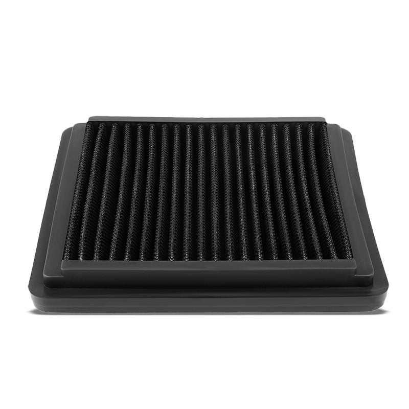 Black High Flow Washable Drop-In Panel Air Filter For 06-15 Civic 1.3/1.5 Hybrid-Performance-BuildFastCar