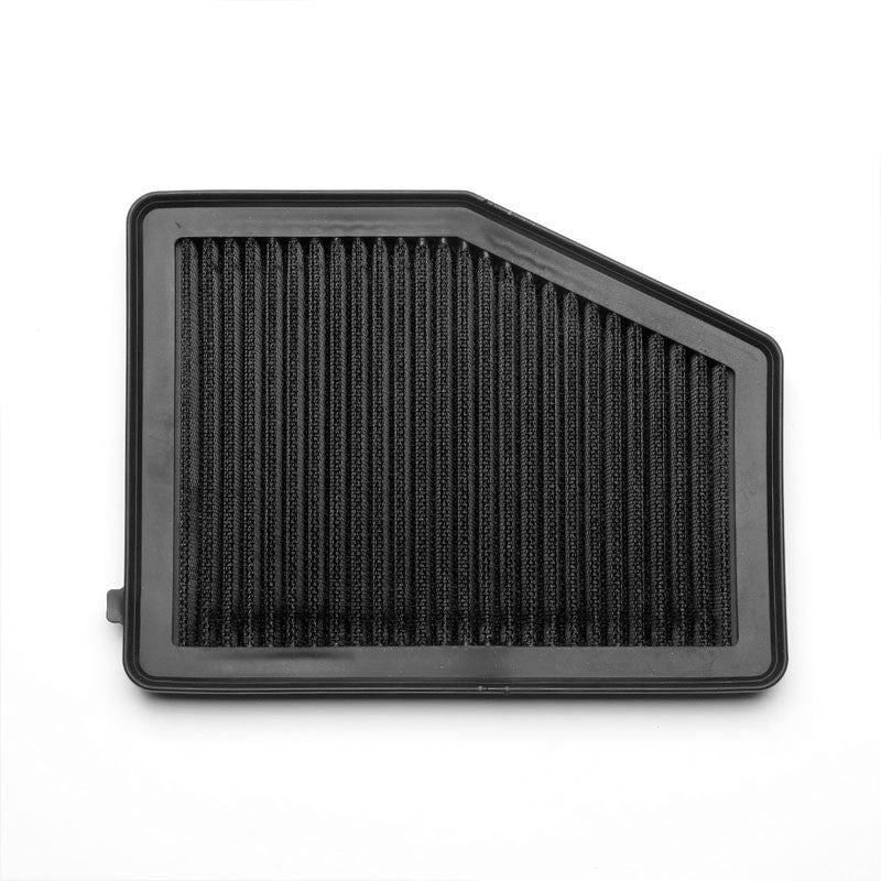 Black High Flow Washable/Reusable Drop-In Panel Air Filter For 12-15 Civic 1.8L-Performance-BuildFastCar