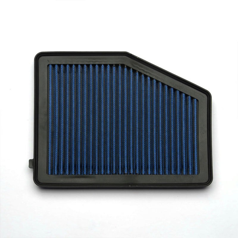 Blue High Flow Washable/Reuse Drop-In Panel Air Filter For 13-15 ILX 2.0L-Performance-BuildFastCar