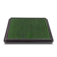 Green High Flow Washable/Reusable Drop-In Panel Air Filter For 14-16 Cadenza-Performance-BuildFastCar