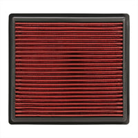 Reusable Red High Flow Drop-In Panel Air Filter For Toyota 14-17 Highlander-Performance-BuildFastCar