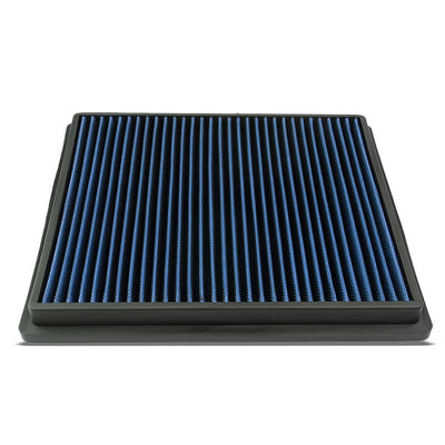 Blue High Flow Washable/Reusable Drop-In Panel Air Filter For 10-16 LaCrosse-Performance-BuildFastCar