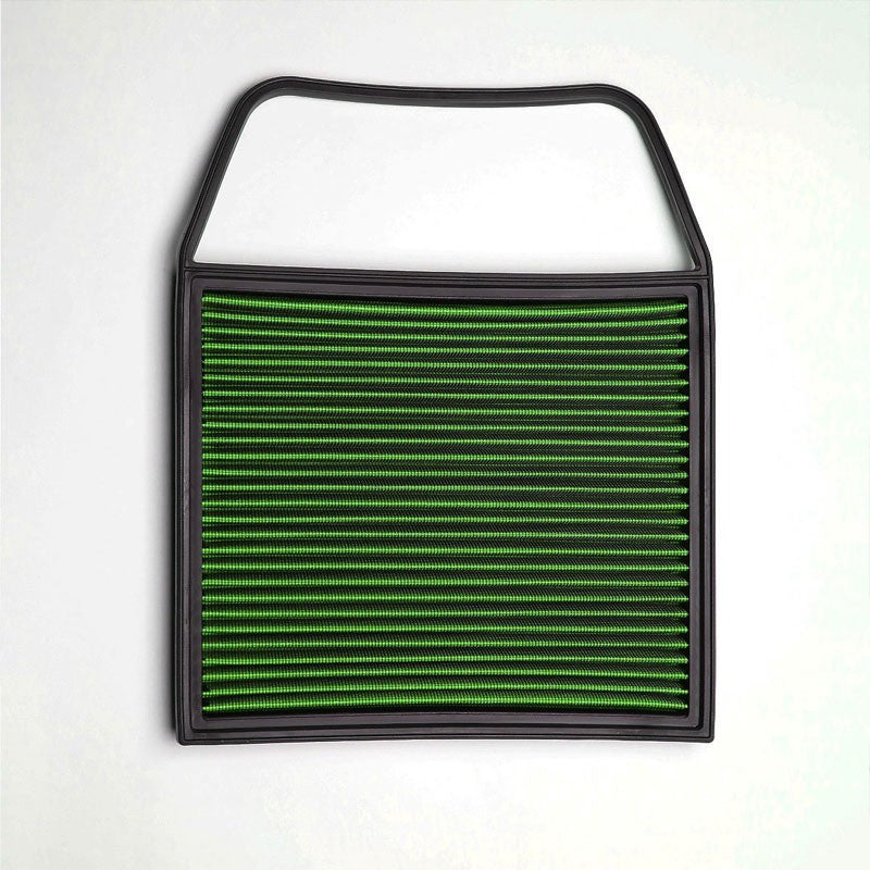 Green High Flow Washable/Reuse Drop-In Panel Air Filter For 09-14 BMW 535i 3.0L-Performance-BuildFastCar