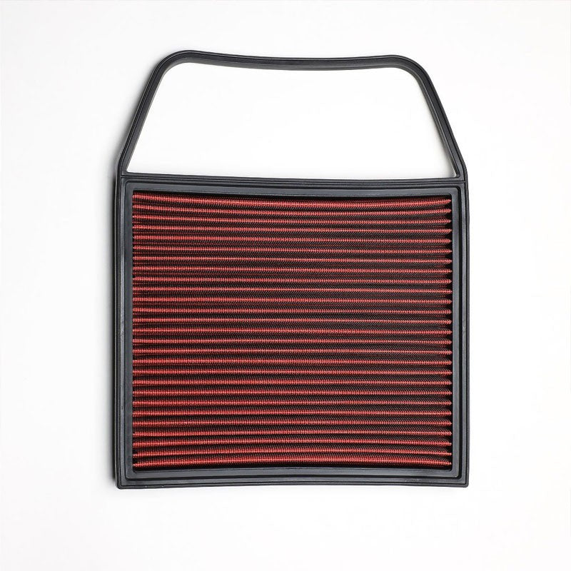 Red High Flow Washable/Reusable Drop-In Panel Air Filter For 11-14 BMW 335i 3.0L-Performance-BuildFastCar