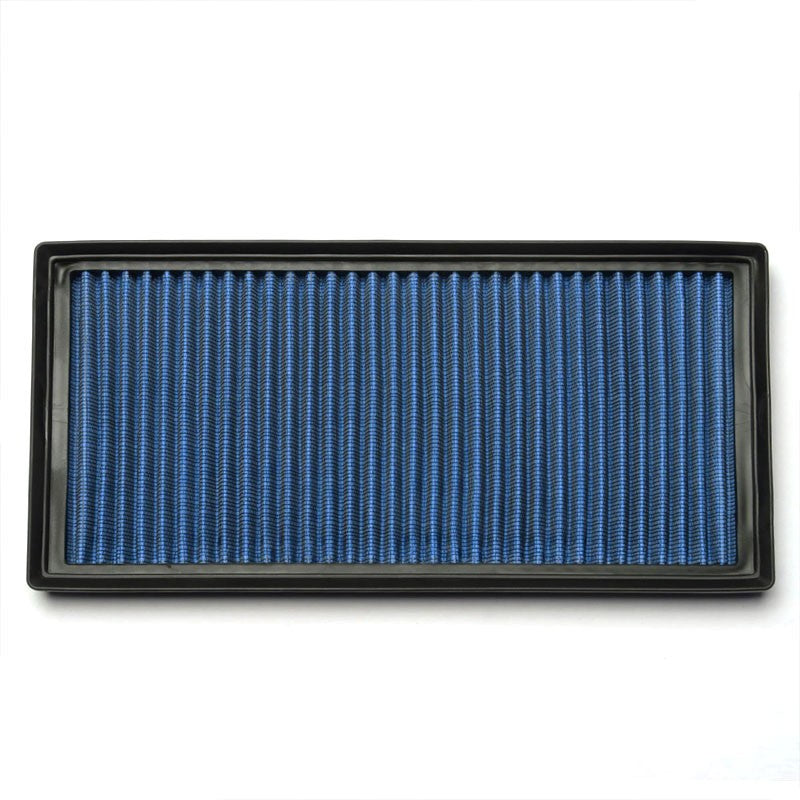 Blue High Flow Washable/Reuse Drop-In Panel Air Filter For 07-11 CLS63 AMG 6.3L-Performance-BuildFastCar