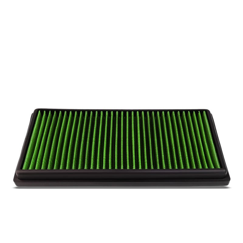 Green High Flow Washable/Reuse Drop-In Panel Air Filter For 07-11 ML63 AMG 6.3L-Performance-BuildFastCar