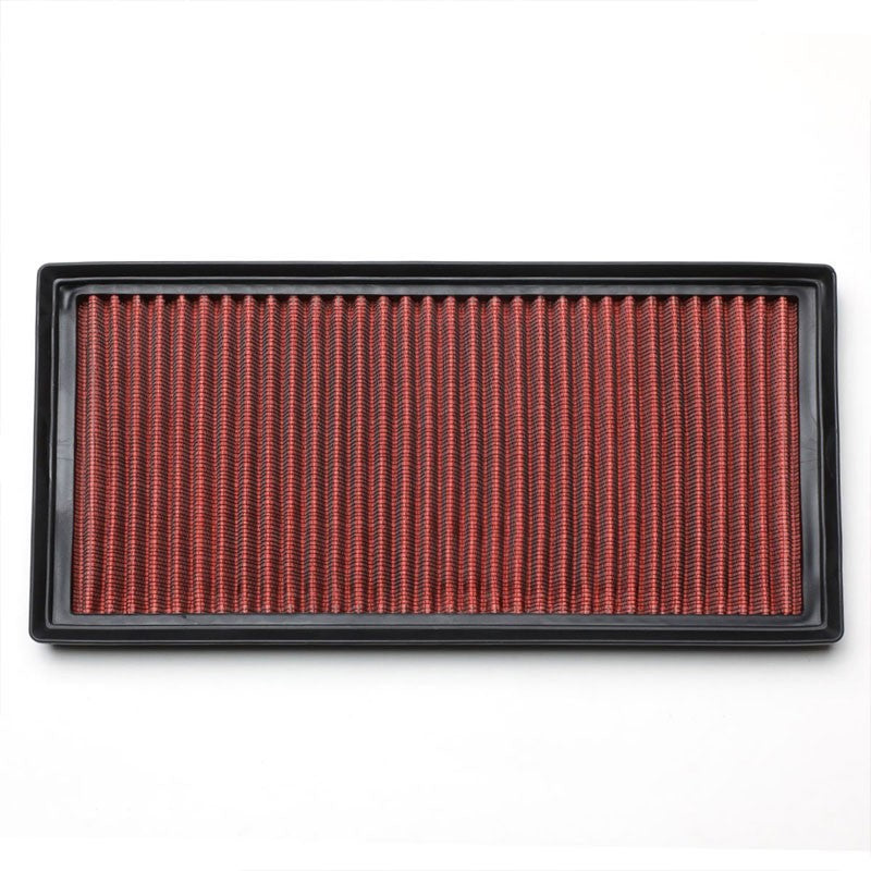 Red Performance Washable Airbox Drop-In Panel Air Filter For 09-12 SL63 AMG 6.3L-Performance-BuildFastCar