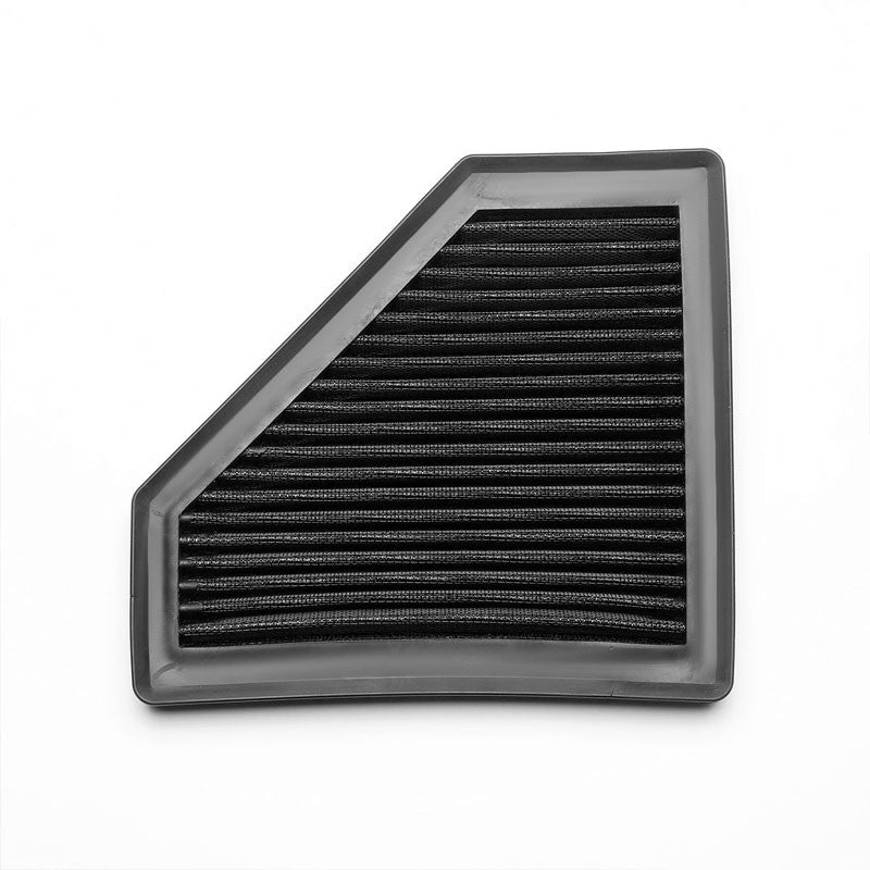 Black High Flow Washable Airbox Drop-In Panel Air Filter For 08-11 Focus 2.0L-Performance-BuildFastCar