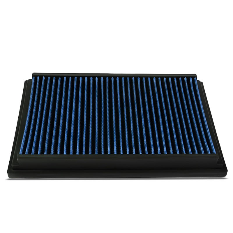 Blue High Flow Washable/Reusable Drop-In Panel Air Filter For 07-15 Mazda 5-Performance-BuildFastCar