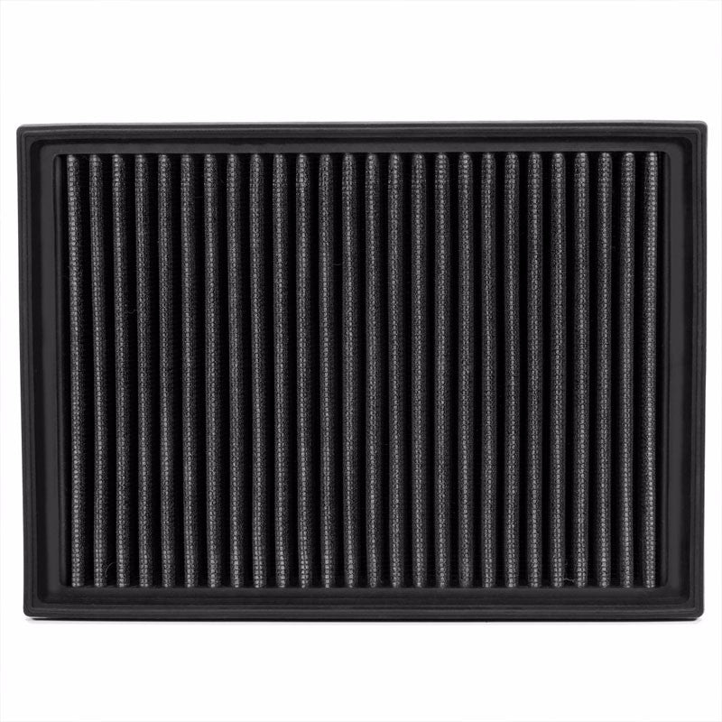 Reusable Black High Flow Drop-In Panel Air Filter For BMW 01-06 330Ci 3.0L-Performance-BuildFastCar