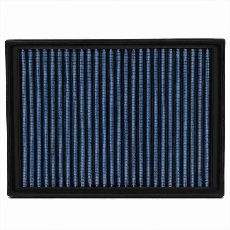Wash/Reusable Blue High Flow Drop-In Panel Air Filter For BMW 01-06 330Ci 3.0L-Performance-BuildFastCar