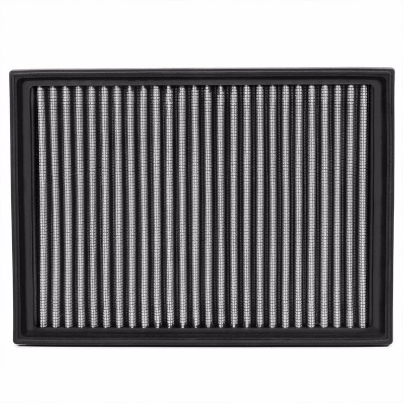 Reusable Silver High Flow Drop-In Panel Air Filter For BMW 01-06 330Ci 3.0L-Performance-BuildFastCar