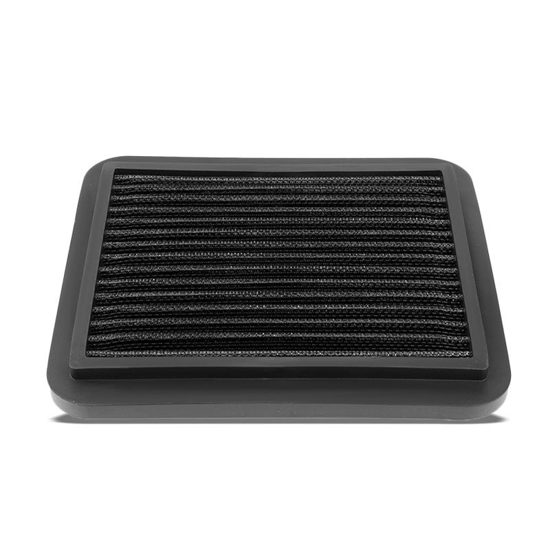 Black High Flow Washable Cotton Airbox Drop-In Panel Air Filter For 01-03 Prius-Performance-BuildFastCar