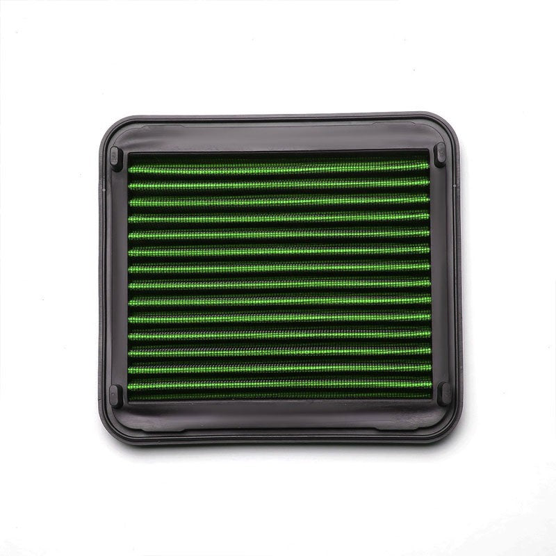 Green High Flow Washable/Reuse Airbox Drop-In Panel Air Filter For 01-03 Prius-Performance-BuildFastCar