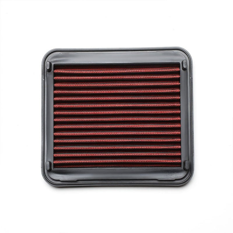 Red Performance Washable/Reuse Airbox Drop-In Panel Air Filter For 01-03 Prius-Performance-BuildFastCar