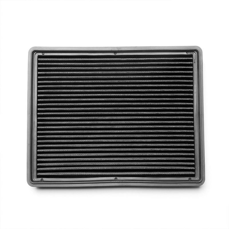 Black High Flow Washable AirboxDrop-In Panel Air Filter For 07-09 Avalanche 6.0L-Performance-BuildFastCar