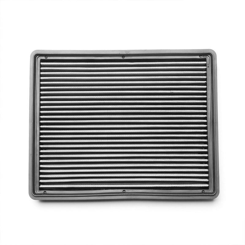 Silver High Flow Washable/Reuse Drop-In Panel Air Filter For 00-13 Suburban 2500-Performance-BuildFastCar
