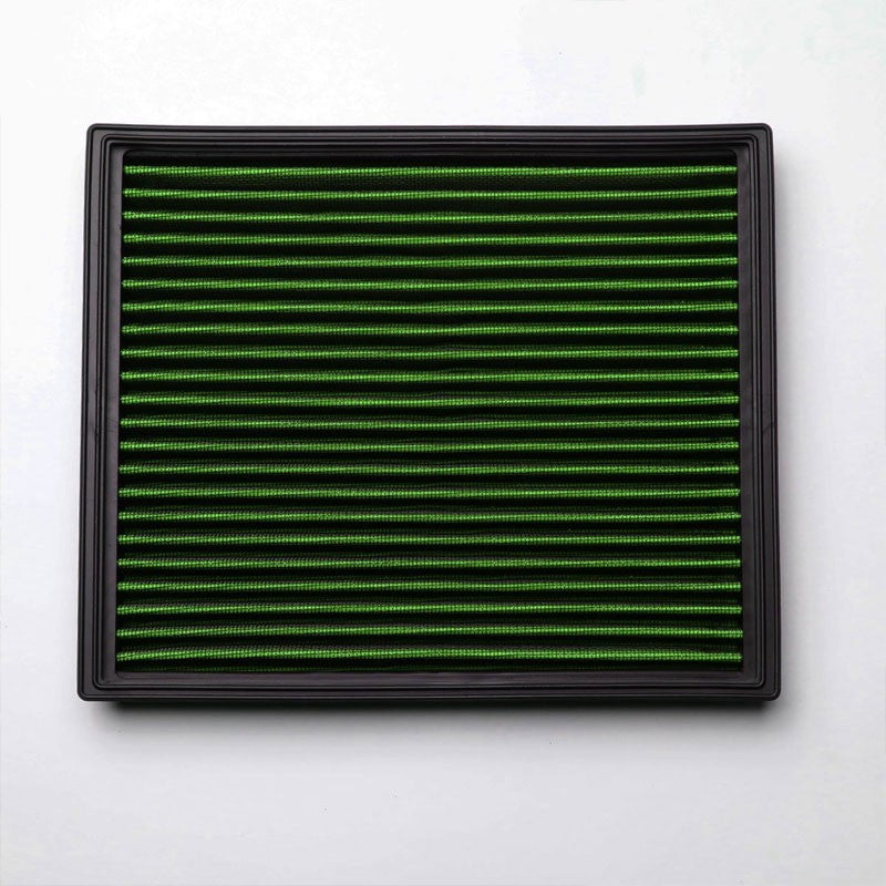 Green High Flow Washable/Reuse Airbox Drop-In Panel Air Filter For 98-05 Passat-Performance-BuildFastCar