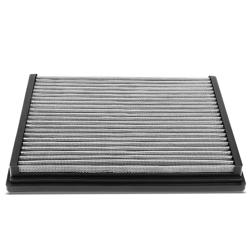 Silver High Flow Washable/Reusable Drop-In Panel Air Filter For 02-03 S6 4.2L-Performance-BuildFastCar