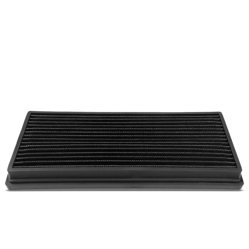 Black High Flow Washable Airbox Drop-In Panel Air Filter For 97-06 Wrangler-Performance-BuildFastCar