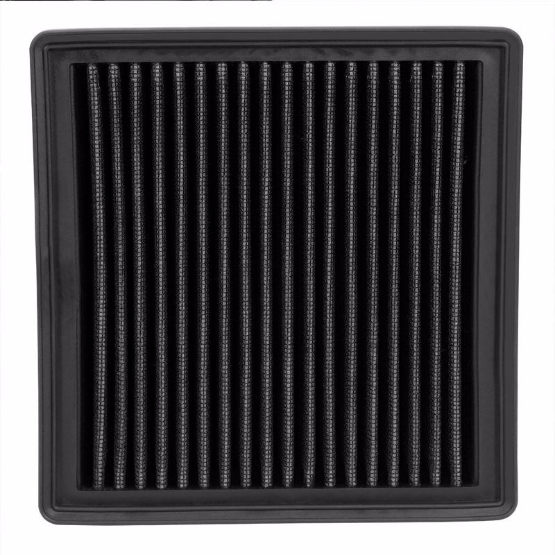 Reusable Black High Flow Drop-In Panel Air Filter For Honda 96-00 Civic 1.6L-Performance-BuildFastCar