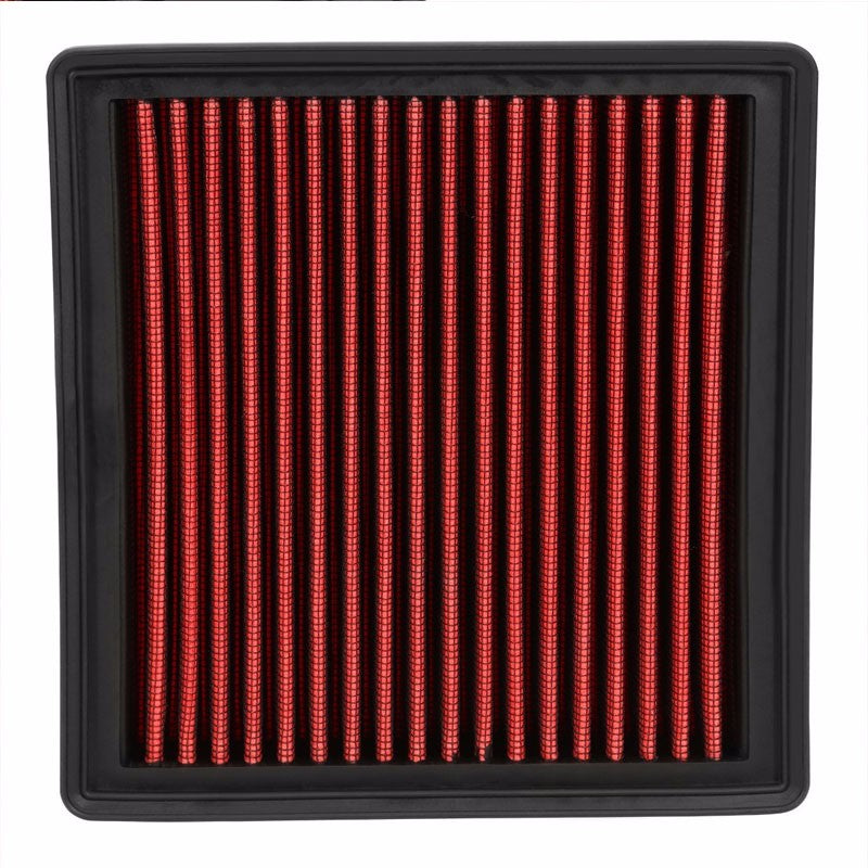 Reusable Red High Flow Drop-In Panel Air Filter For Honda 96-00 Civic 1.6L-Performance-BuildFastCar