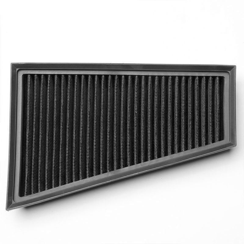 Black High Flow Washable Airbox Drop-In Panel Air Filter For 13-17 A250 2.0L-Performance-BuildFastCar