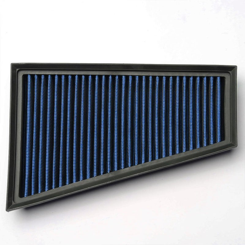 Blue High Flow Washable Airbox Drop-In Panel Air Filter For 15-17 CLA180 1.6L-Performance-BuildFastCar