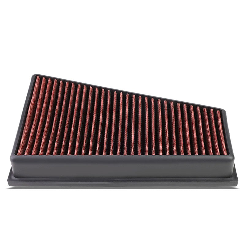Red Performance Washable AirboxDrop-In Panel Air Filter For 14-17 GLA250 2.0L-Performance-BuildFastCar