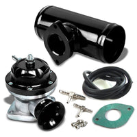 "Black Type-RS Turbo Intercooler 30 PSI Blow Off Valve BOV+2.5""OD Flange Pipe-Performance-BuildFastCar"