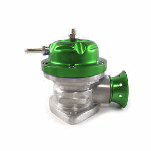 "Green Type-RS Adjust Turbo Blow Off Valve BOV+Silver 9.5"" Dual Port Flange Pipe-Performance-BuildFastCar"