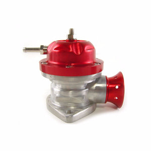 Red Type-RS Adjust 30 PSI Turbo Blow Off Valve BOV+Black 80 Degree Flange Pipe-Performance-BuildFastCar