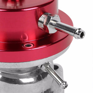 "Type-S/RS Turbo 30PSI Blow Off Valve BOV RD+Red 2.5"" Flange Adapter Curve Pipe-Performance-BuildFastCar"