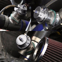 Type-S Billet Anodized Turbo 30PSI Blow Off Valve BOV SL+2.5 Flange adapter Pipe-Performance-BuildFastCar