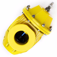 Gold SSQV Adjust Turbo Intercooler Blow Off Valve BOV+Red Dual Port Flange Pipe-Performance-BuildFastCar