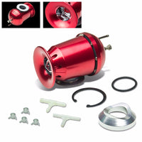 "Red SSQV Turbo Adjust 30PSI Blow Off Valve BOV+Silver 8""/80D Flange Adapter Pipe-Performance-BuildFastCar"