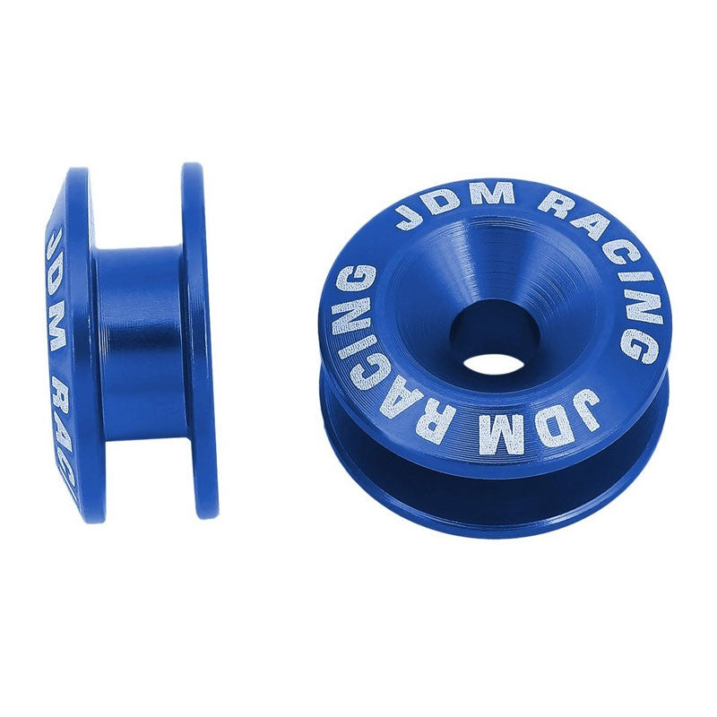 4Pcs Blue Rivet Quick Release Fasteners Bolt for Bumper/Fender/Hatch/Lip/Trunk-Exterior-BuildFastCar