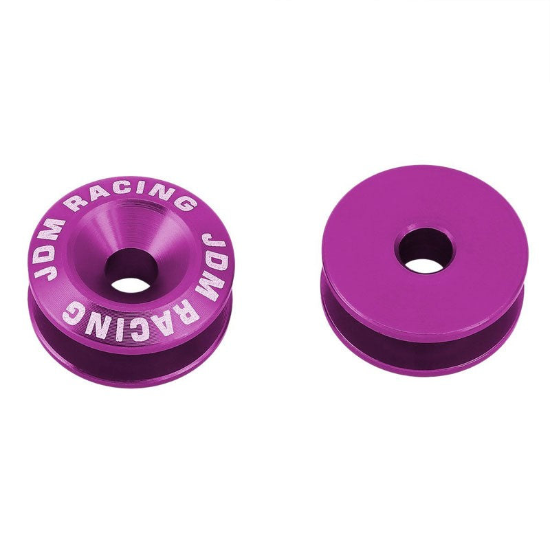 4Pcs Purple Rivet Quick Release Fasteners Bolt for Bumper/Fender/Hatch/Lip/Trunk-Exterior-BuildFastCar