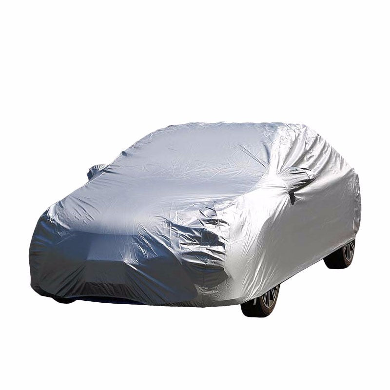 9-Layer XL Silver Peva All Weather Resist Breathable In/Out Door Car Cover-Accessories-BuildFastCar